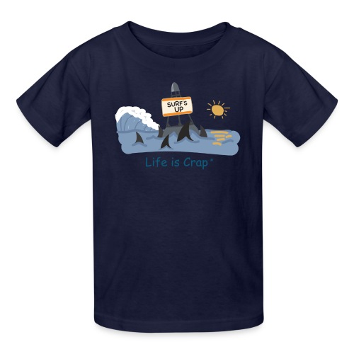 Surfs Up Sharks - Kids T-shirt - Kids' T-Shirt
