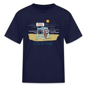Beach Closed - Kids T-shirt - Kids' T-Shirt