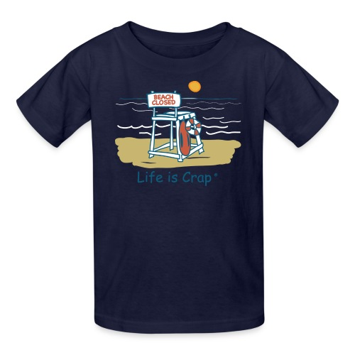 Beach Closed - Kids T-shirt - Kids' T-Shirt
