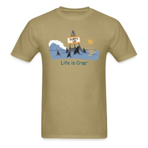 Surfs Up Sharks - Mens Classic T-shirt - Men's T-Shirt