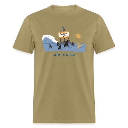 Surfs Up Sharks - Mens Classic T-shirt - Men's T-Shirt