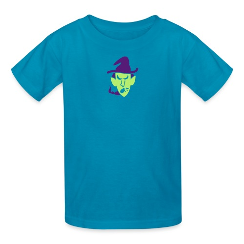 Angry Halloween Witch - Kids' T-Shirt