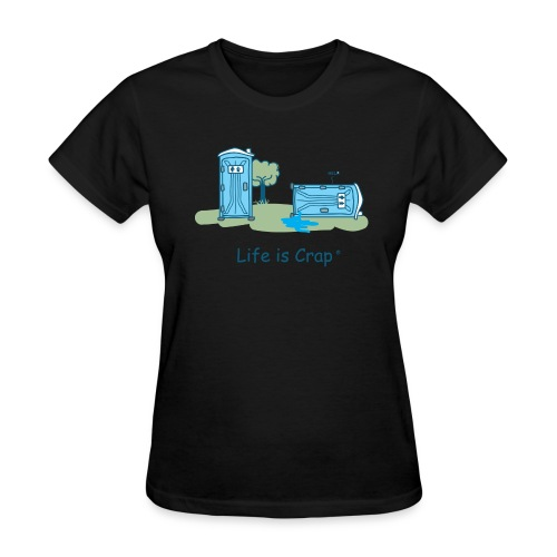 Porta Potty Fail - Women's Classic T-shirt - Women's T-Shirt