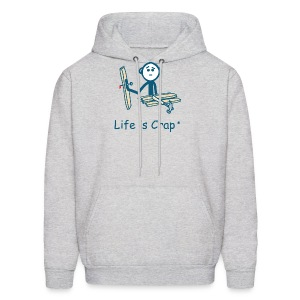 Handyman Nail in Hand - Mens Hooded Sweatshirt - Men's Hoodie