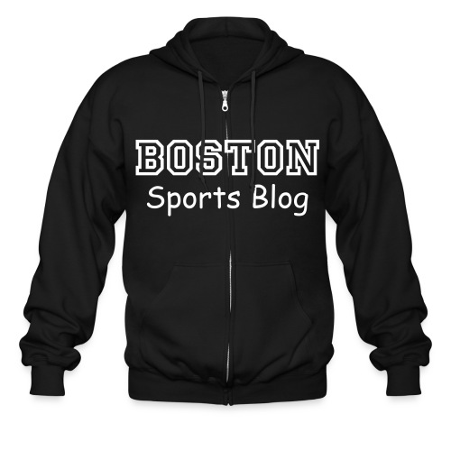 Boston Sports Blog Hoodie - Men's Zip Hoodie