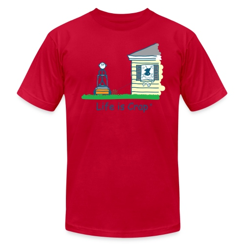Mow Rock - Mens Tee by Amrican Apparel - Men's Fine Jersey T-Shirt