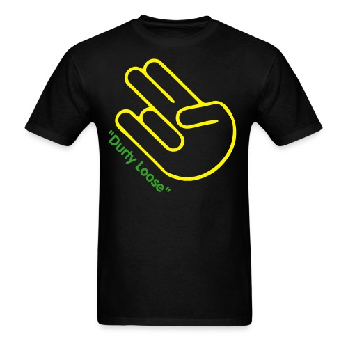 Durty Loose Shocker - Men's T-Shirt