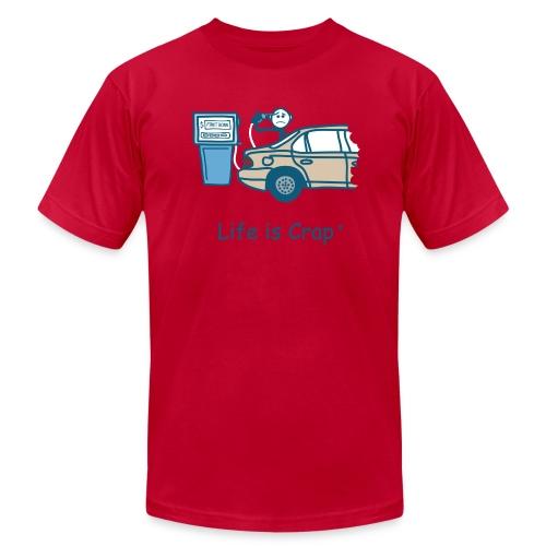 Gas Price - Men's Fine Jersey T-Shirt
