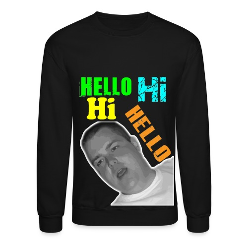 Hello Hi Hi Hello - sweatshirt - Crewneck Sweatshirt
