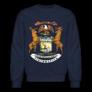 Long Sleeve Shirts ~ Crewneck Sweatshirt ~ Si Quæris Peninsulam Amœnam Circumspice