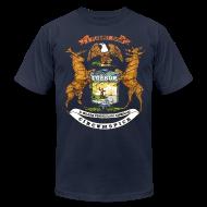 T-Shirts ~ Men's T-Shirt by American Apparel ~ Si Quæris Peninsulam Amœnam Circumspice