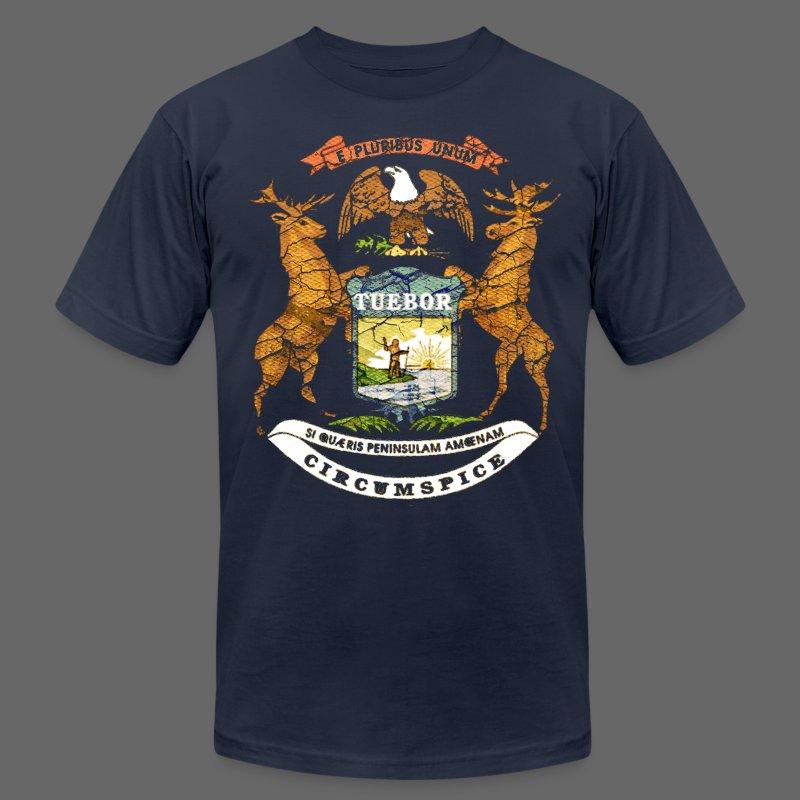 Si Quæris Peninsulam Amœnam Circumspice - Men's Fine Jersey T-Shirt