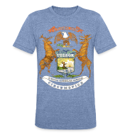 T-Shirts ~ Unisex Tri-Blend T-Shirt ~ Si Quæris Peninsulam Amœnam Circumspice