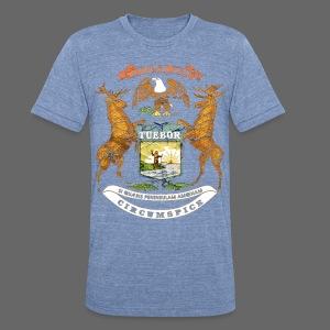 Si Quæris Peninsulam Amœnam Circumspice - Unisex Tri-Blend T-Shirt