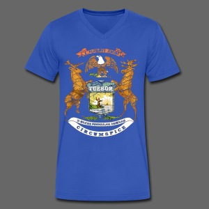 Si Quæris Peninsulam Amœnam Circumspice - Men's V-Neck T-Shirt by Canvas