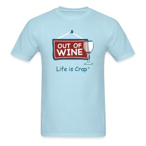 Out Of Wine - Mens Classic T-Shirt - Men's T-Shirt