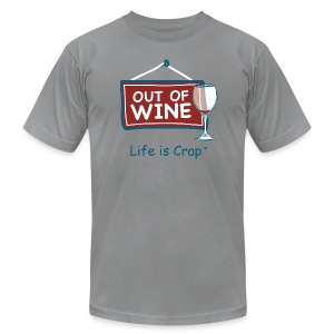Out Of Wine - Mens T-Shirt by American Apparel - Men's T-Shirt by American Apparel