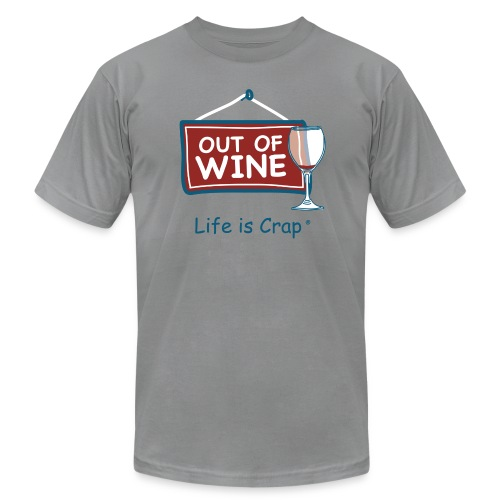 Out Of Wine - Mens T-Shirt by American Apparel - Men's Fine Jersey T-Shirt