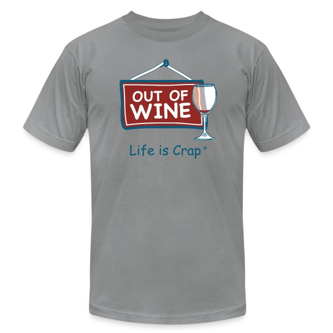 Out Of Wine - Mens T-Shirt by American Apparel