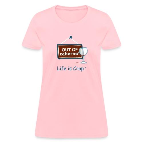 Out Of Cabernet - Womens Classic T-Shirt - Women's T-Shirt