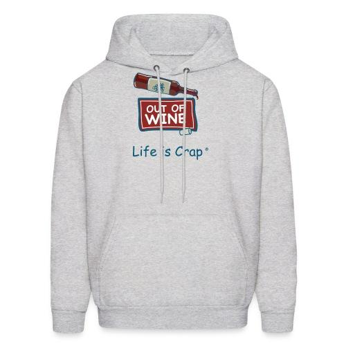 Out Of Wine Bottle - Mens Hooded Sweatshirt - Men's Hoodie