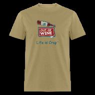 T-Shirts ~ Men's T-Shirt ~ Out Of Wine Bottle - Mens Classic T-Shirt