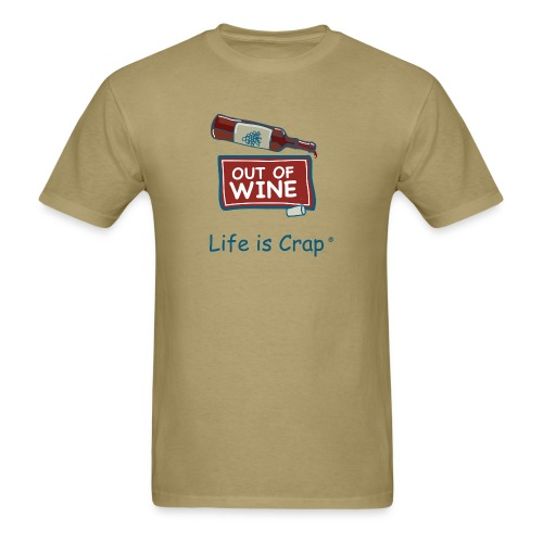 Out Of Wine Bottle - Mens Classic T-Shirt - Men's T-Shirt
