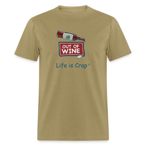 Out Of Wine Bottle - Mens Classic T-Shirt - Men's T-Shirt