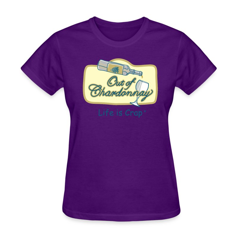 Out Of Chardonnay - Womens Classic T-Shirt - Women's T-Shirt