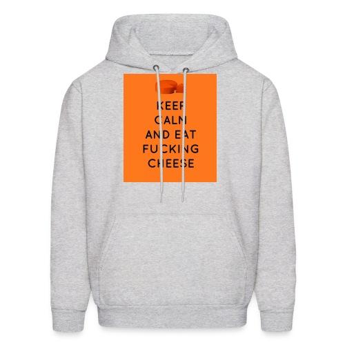 Eat Cheese HOODIE - Men's Hoodie