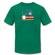 T-Shirts ~ Men's T-Shirt by American Apparel ~ Penalty Box Hockey - Mens T-Shirt by American Apparel
