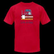 T-Shirts ~ Men's T-Shirt by American Apparel ~ Penalty Box Hockey - Mens T-Shirt by American Apparel