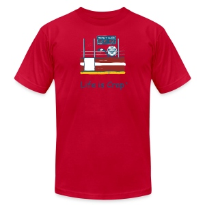 Penalty Box Hockey - Mens T-Shirt by American Apparel - Men's Fine Jersey T-Shirt