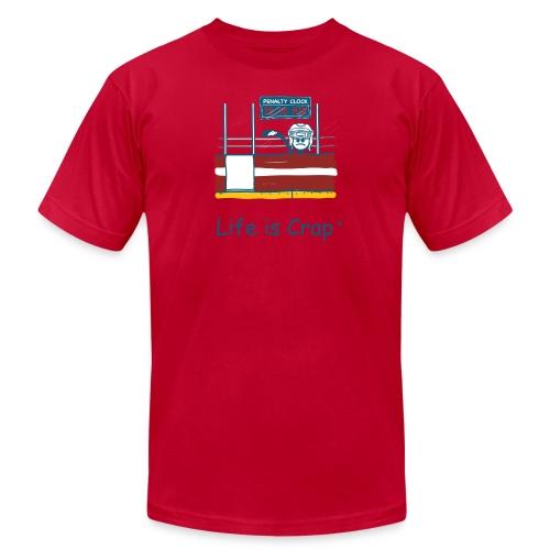 Penalty Box Hockey - Mens T-Shirt by American Apparel - Men's Jersey T-Shirt