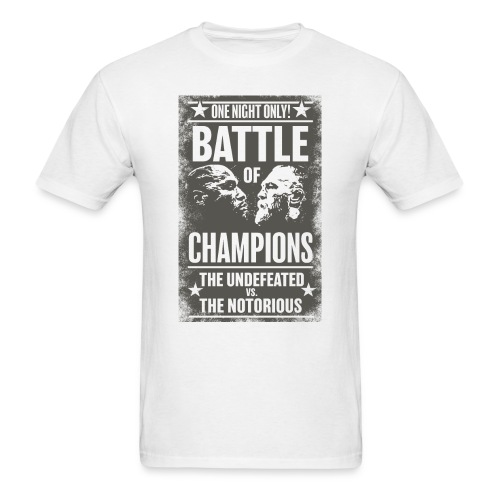 The Undefeated vs The Notorious T-shirt - Men's T-Shirt