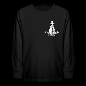 Vancouver T-shirt Kid's Vancouver Canada Shirt - Kids' Long Sleeve T-Shirt