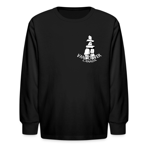 Vancouver T-shirt Kid's Vancouver Canada Shirt - Kids' Long Sleeve T-Shirt