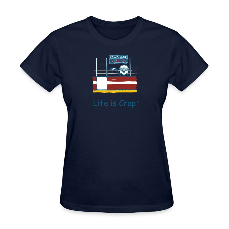 Penalty Box Hockey - Womens Classic T-Shirt - Women's T-Shirt