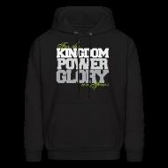 Hoodies ~ Men's Hoodie ~ Kingdom Power Glory Hoodie