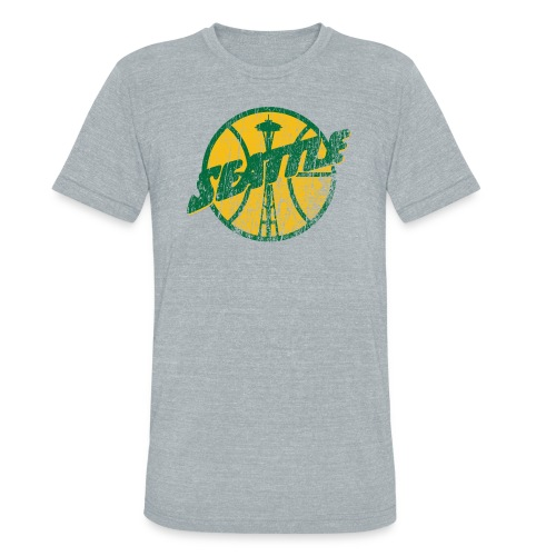 Seattle Basketball - Unisex Tri-Blend T-Shirt