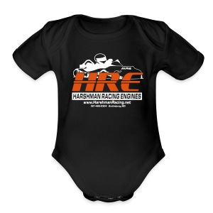 HRE Baby Dark - Short Sleeve Baby Bodysuit