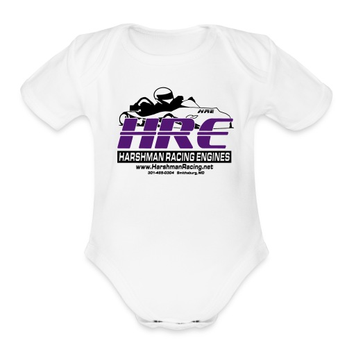 HRE Baby Light - Organic Short Sleeve Baby Bodysuit