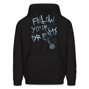 Men's Hoodie - webcomic,spider,loadingartist,loading,inspired,inspidered,inspider,gregor,follow your dreams,dreams,czaykowski,comic,artist