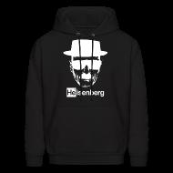 Hoodies ~ Men's Hoodie ~ Heisenberg Hooded Sweatshirt