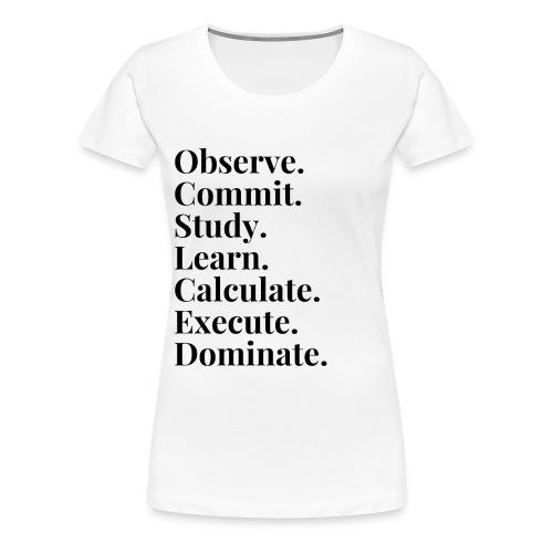 The Formula - Women's Premium T-Shirt