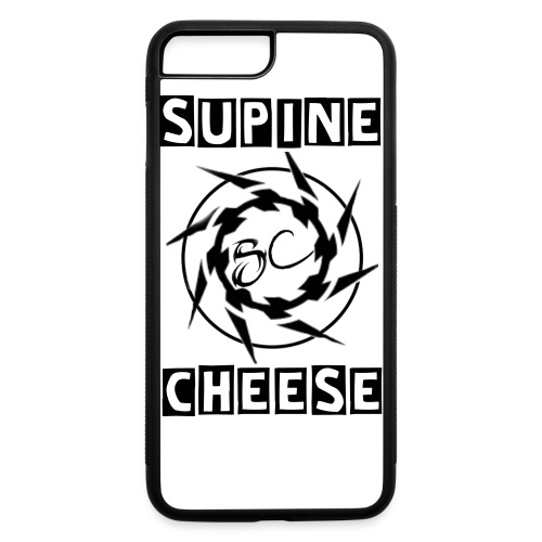 Supine Cheese iPhone 7 Rubber Case - iPhone 7 Plus/8 Plus Rubber Case