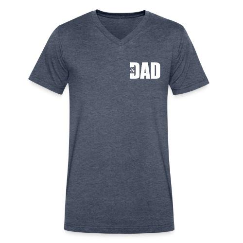 P3 Dad V Neck - Men's V-Neck T-Shirt by Canvas
