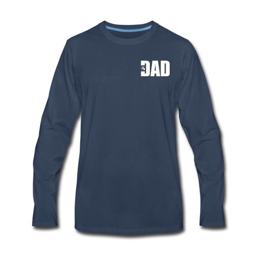 P3 Dad Long Sleeve TShirt - Men's Premium Long Sleeve T-Shirt