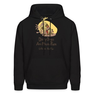 Dirty Dog Men's Hooded Sweatshirt - Men's Hoodie
