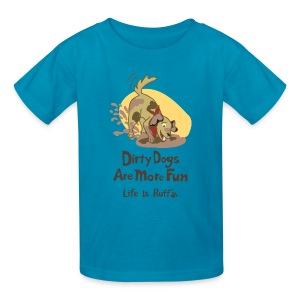 Dirty Dog Kid's T-Shirt - Kids' T-Shirt